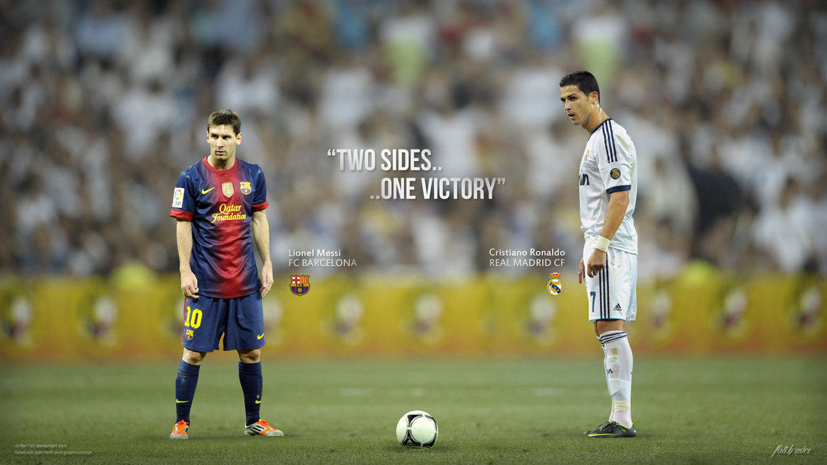 cristiano ronaldo vs lionel messi 2013 wallpapers hd