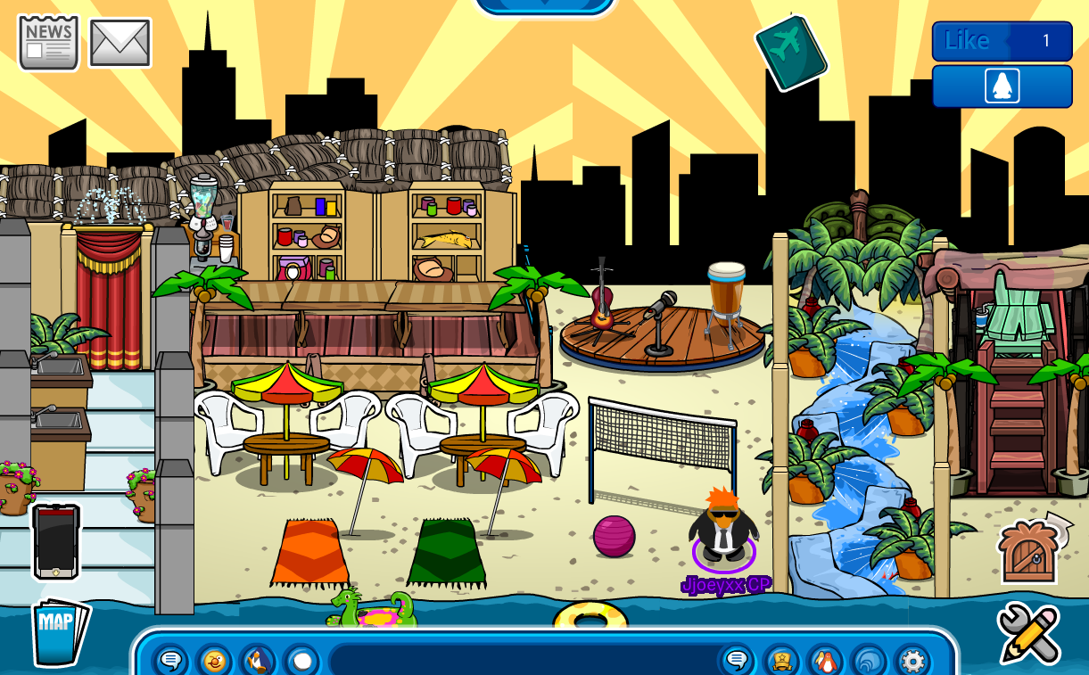You Could Say Its An Indoor Beach This Igloo Was Made On A CPPS Because It Is For Something Important Not Much To About So Here