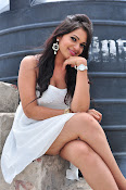 Ashwini latest sizzling photos in white-thumbnail-16