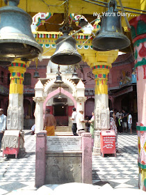 Temples on the Vishram Ghat, Mathura