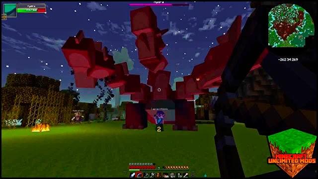 Hexxit Mod Pack ATLauncher Minecraft dragon