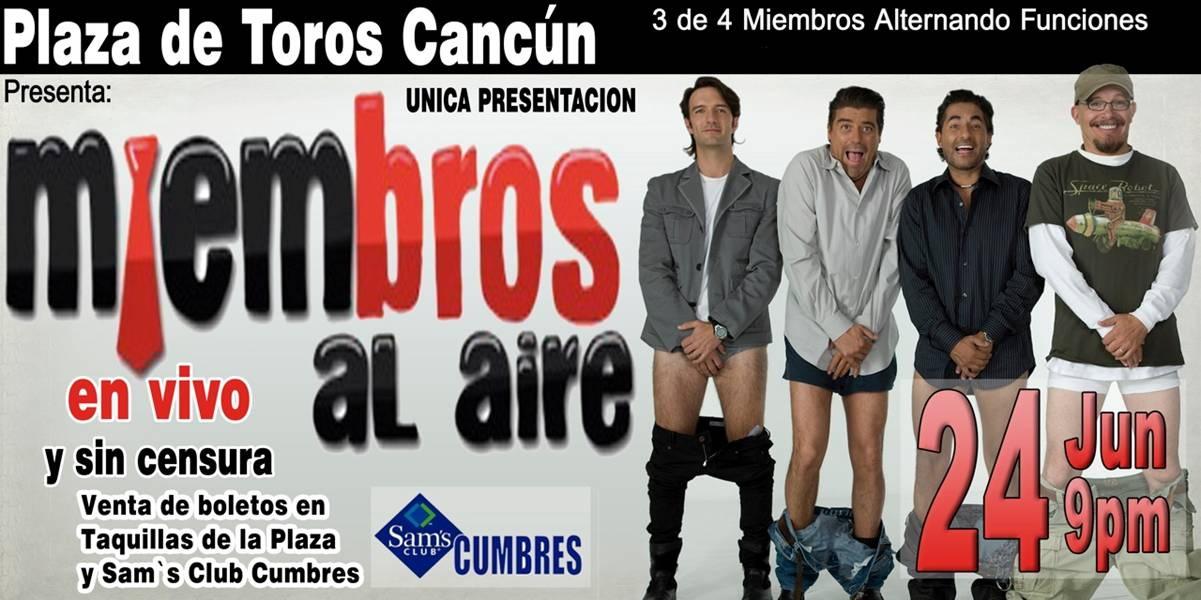 Miembros Al Aire En Cancun Plaza De Toros