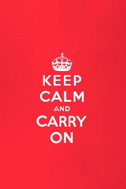 Keep Calm Wallpaper