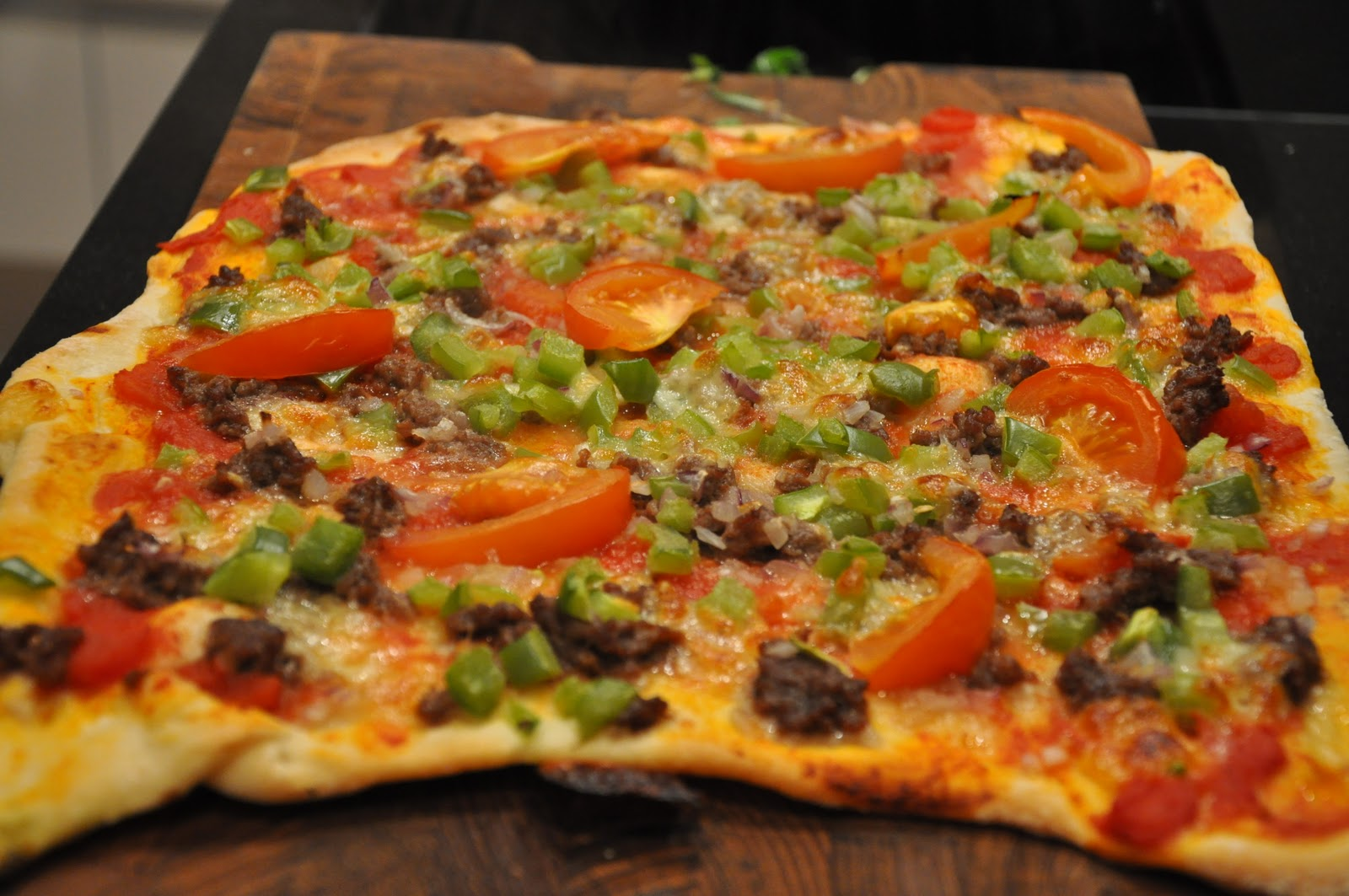 hjemmelavet pizzabund