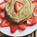 A Sunday Breakfast | Matcha Green Tea Pancakes
