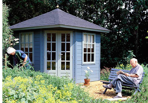 Garden summerhouses blog for Summer house blinds