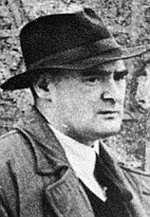 Brian O'Nolan, who wrote under the pseudonyms of Flann O'Brien and Myles na gCopaleen