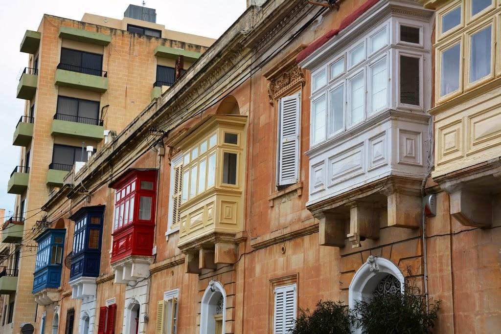 St. Julians balconies