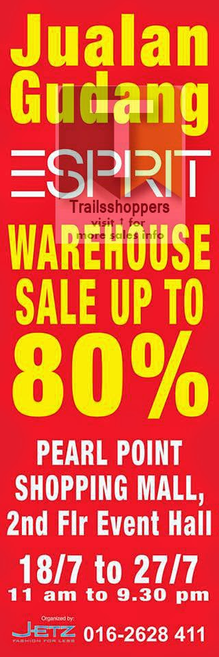 Esprit Warehouse Sale 2014
