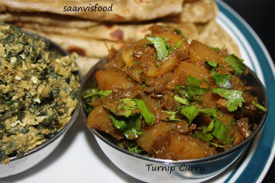 Turnip Curry // Mullangi Dumpa Kura