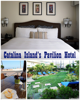 Travel the World: Luxury accommodations at Catalina Island's Pavilion Hotel, steps away from the ocean.