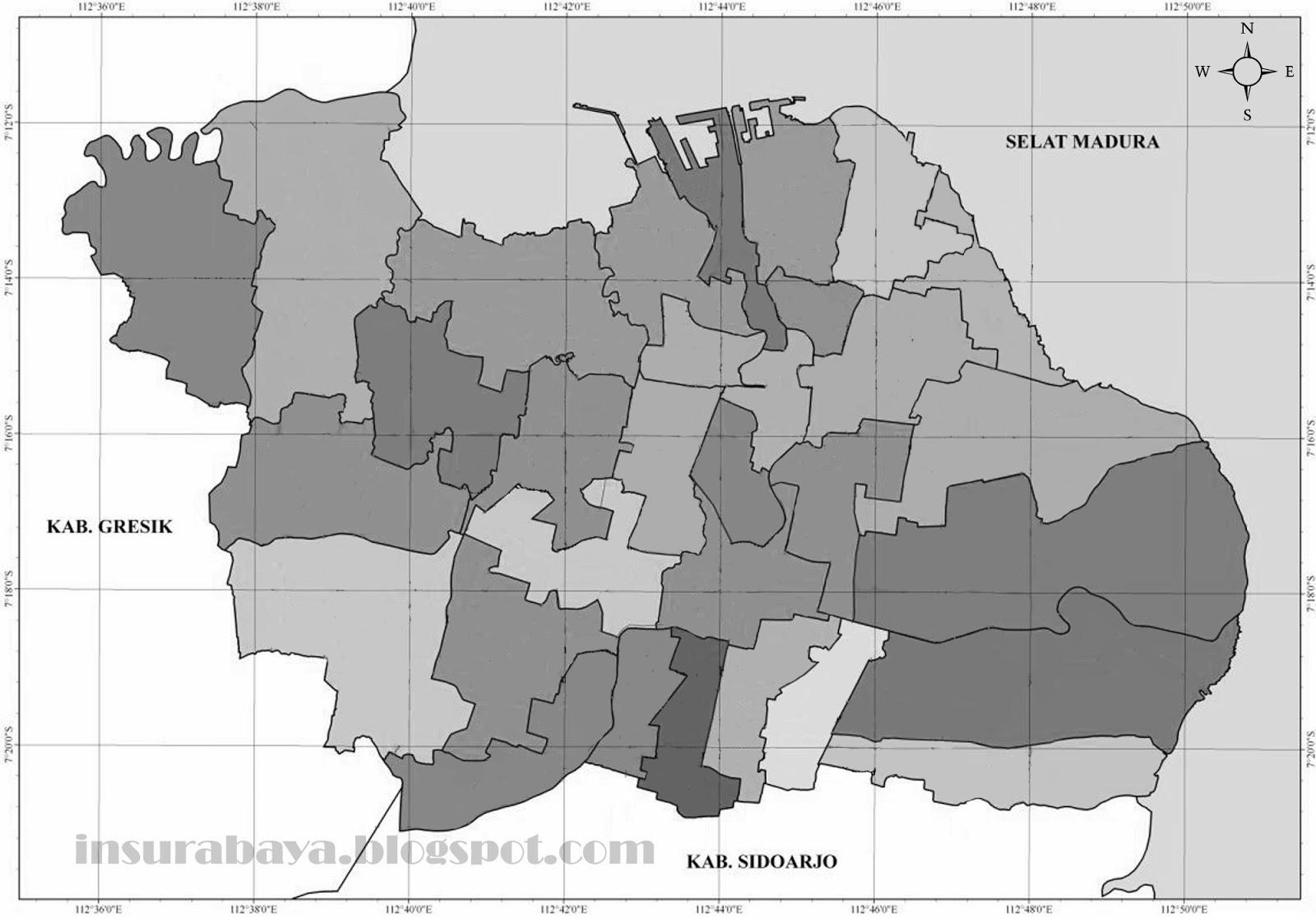 Peta Buta Surabaya