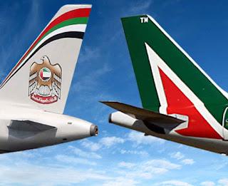 Alitalia Etihad Airways