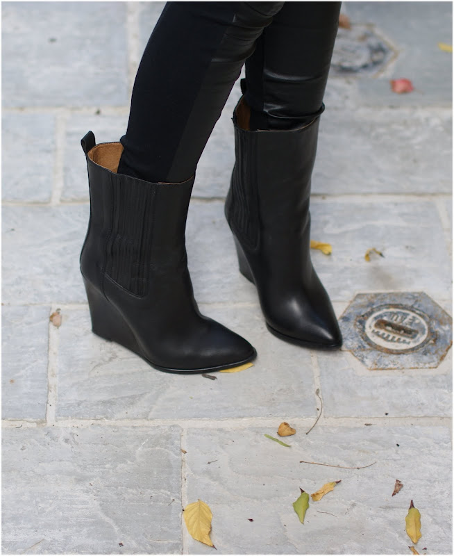 wedge ankle boots, Iro shoes