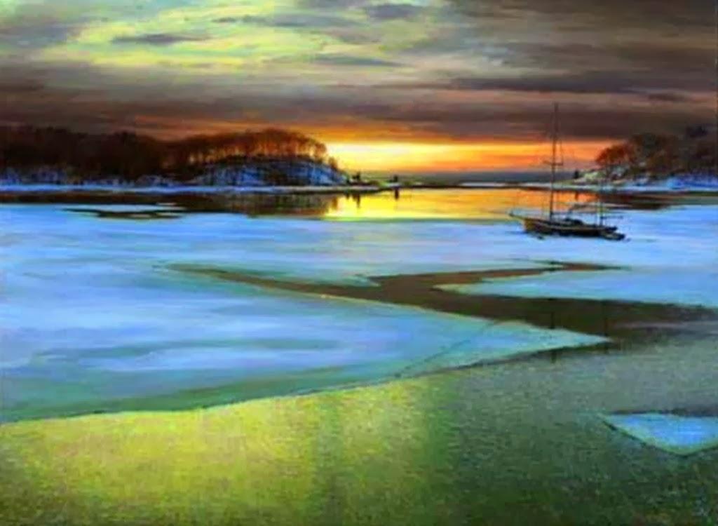 paisajes-en-atardecer-pintados-al-oleo