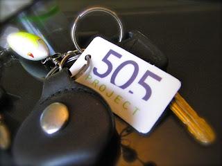 505 Project key tag