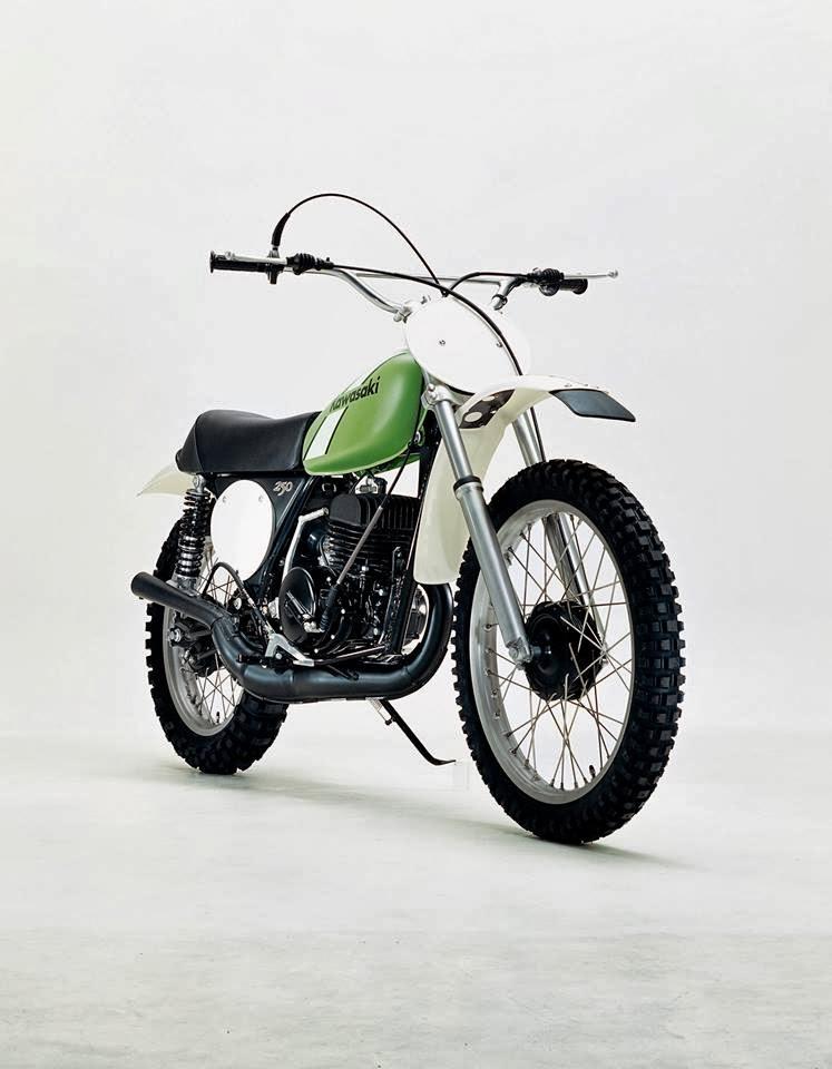 Racing Caf U00e8  Kawasaki Kx 250 1973