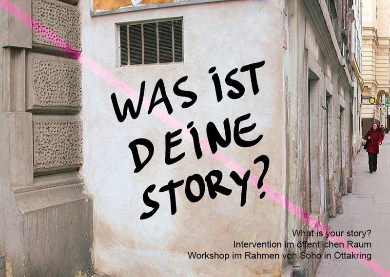 Was ist deine story?