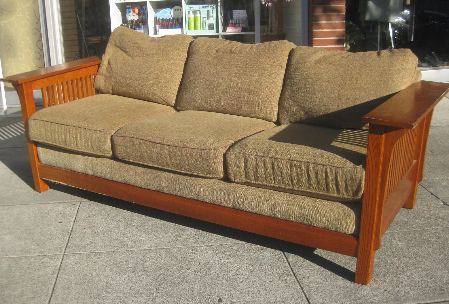 Mission Style Sofa 100 Mission Leather Sofa Italy Leather