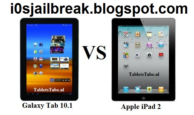 iPad 2 vs Samsung Galaxy Tab 10.1