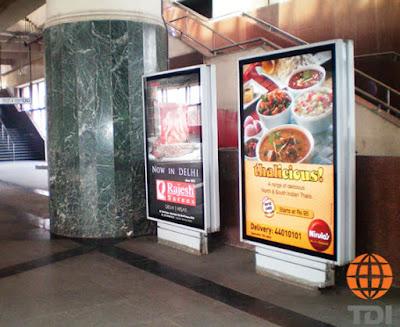 Delhi Metro Advertising