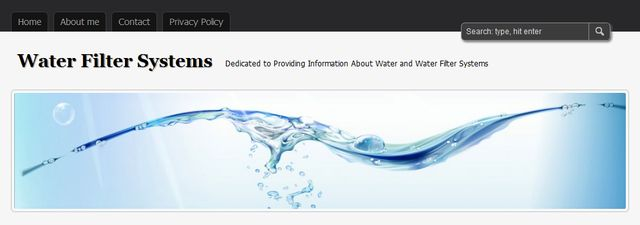 Water filters reviews