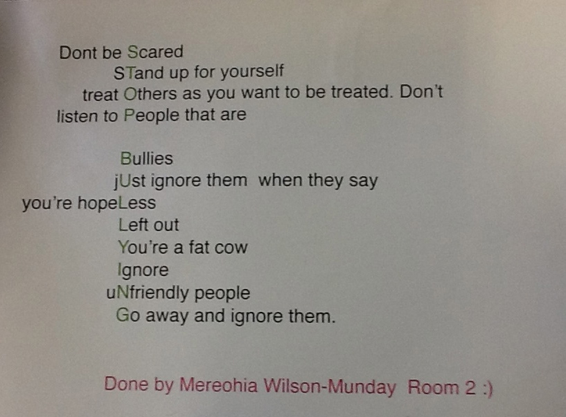 Famous Poems About Bullying