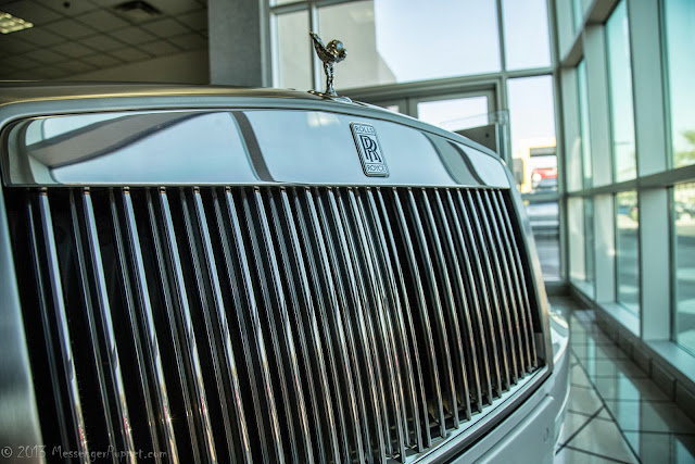 2013 Rolls-Royce Phantom Drophead Coupé grille