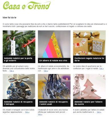 Coscienza sostenibile idee creative per la casa casa e - Idee creative per la casa ...