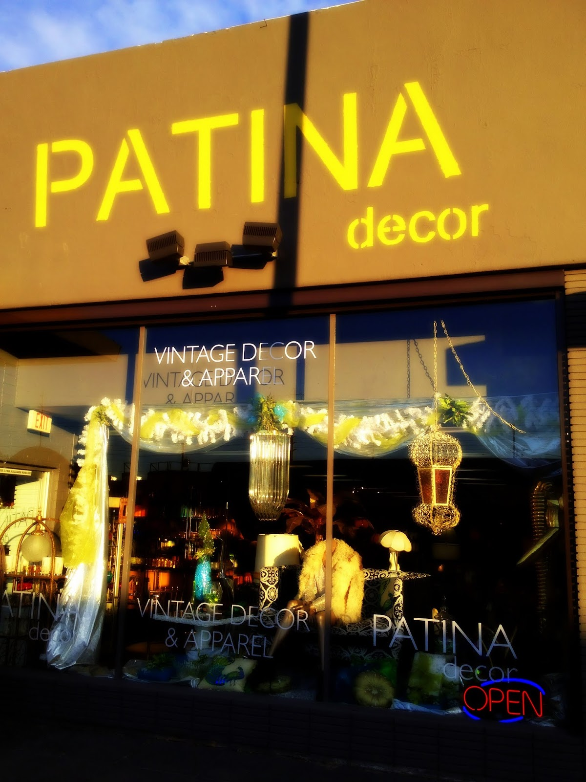 patina decor: mid-century modern shopping in vegas and blogworld ...