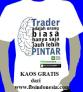 T-shirt gratis Sekolah Belajar Forex FBS Indonesia Ciyoni-Blogspot