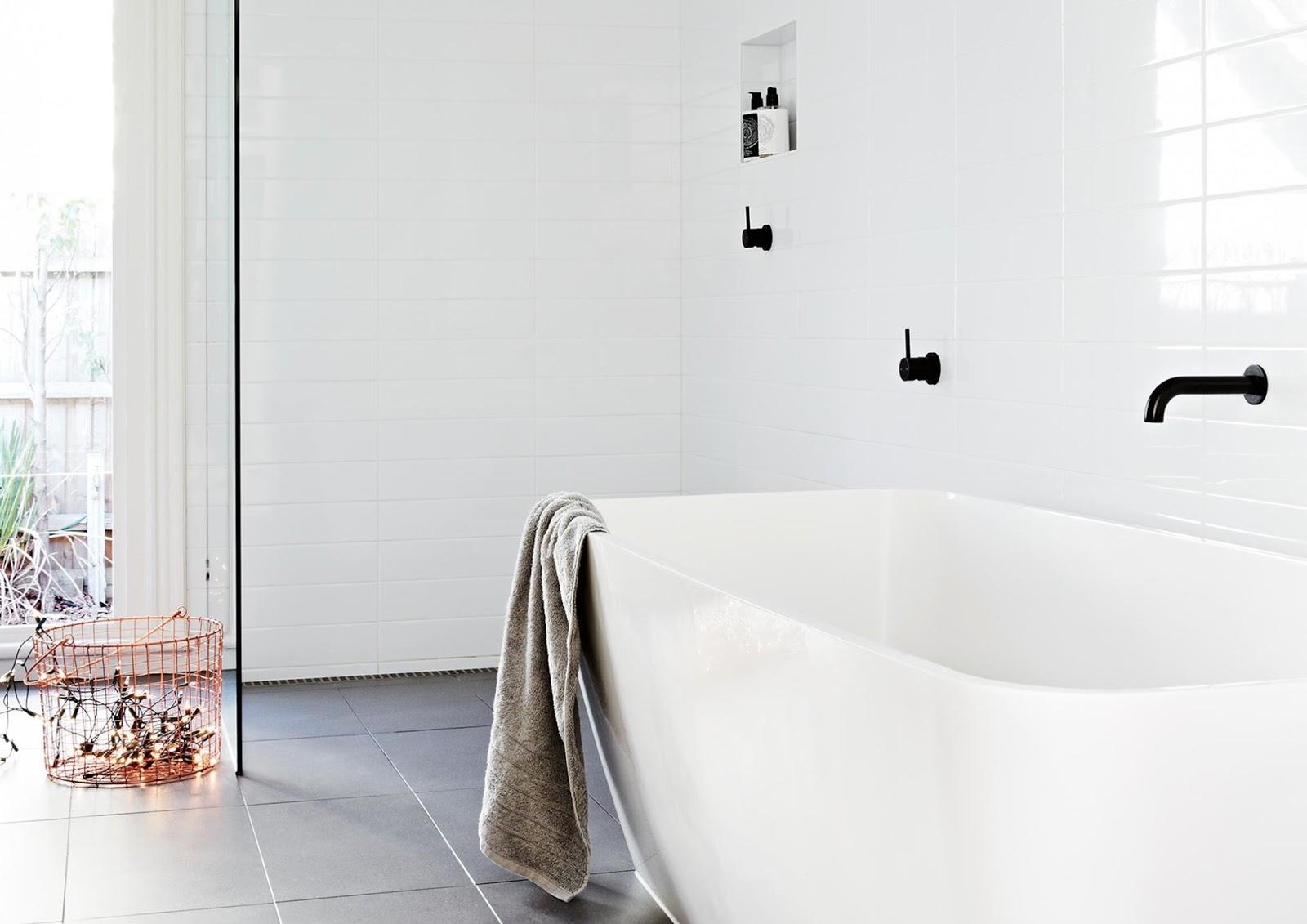 Nuove tendenze rubinetteria nera e minimale arc art - Nuove tendenze bagno ...