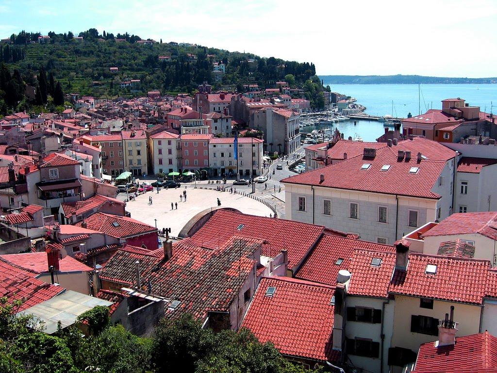 Portoroz Slovenia  City new picture : Portoroz, Slovenia – Portul Trandafirilor