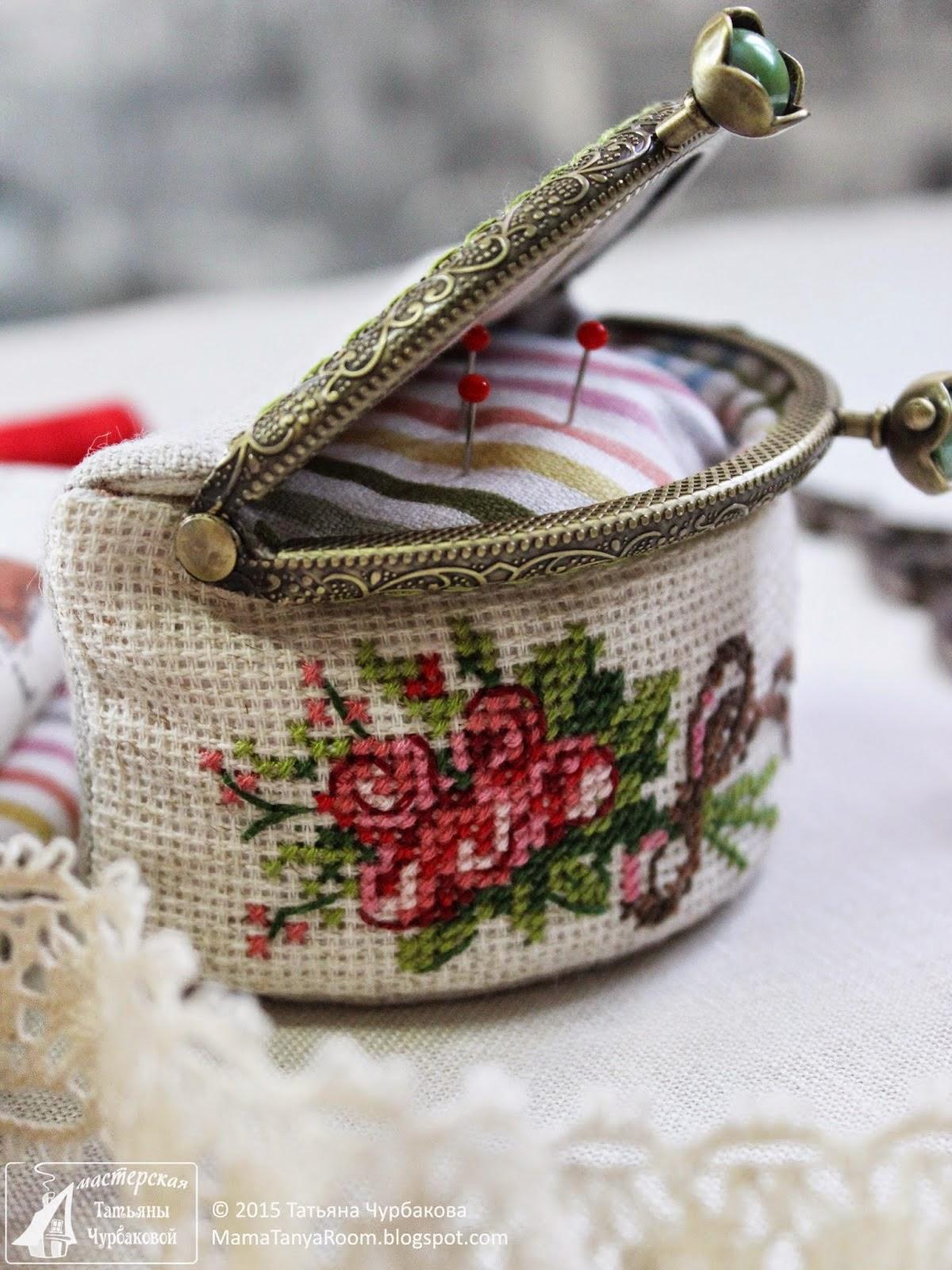 Вышивка аксессуары и рукоделие
