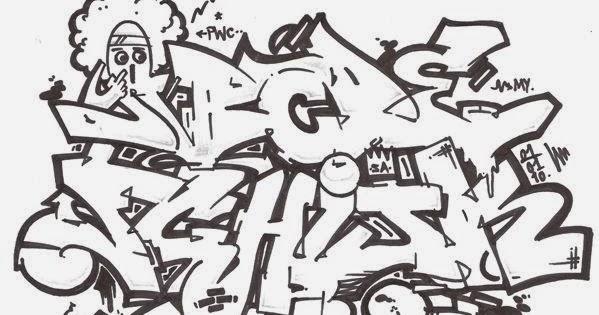 Graffitie: alphabet graffiti wildstyle