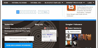 cara membuat menu melayang di blogspot