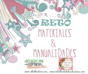 Reto Materiales y Manualidades: PLASTICO y GOMA EVA