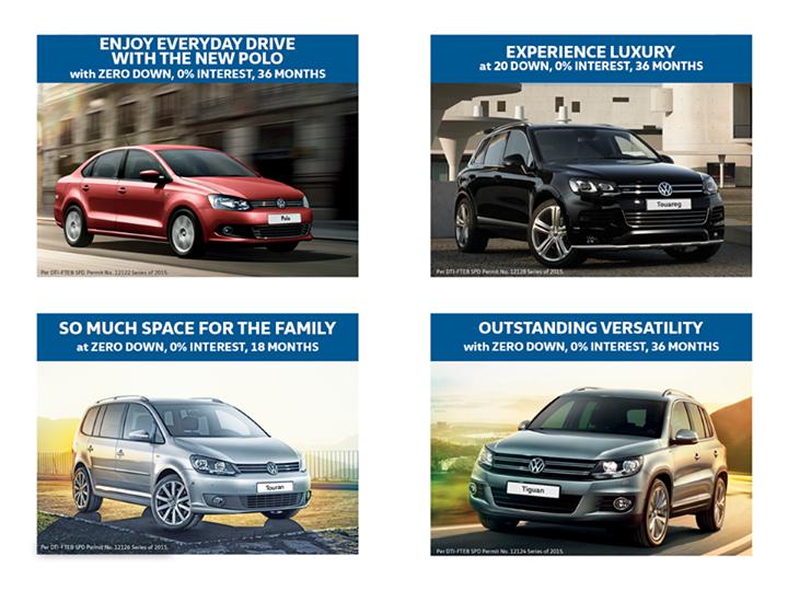 Volkswagen Extends Financing Promo to October
