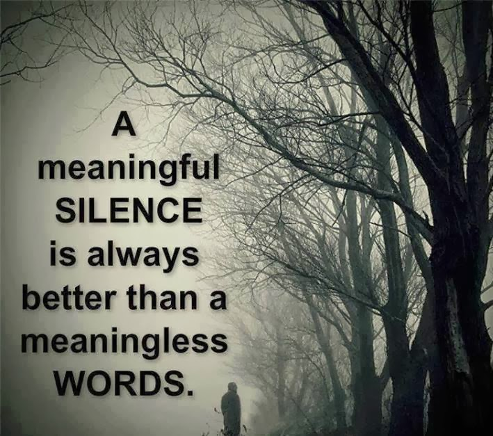 Silence Quotes. QuotesGram