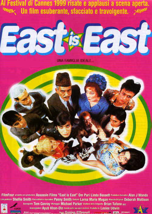 East Is East Film Poster
