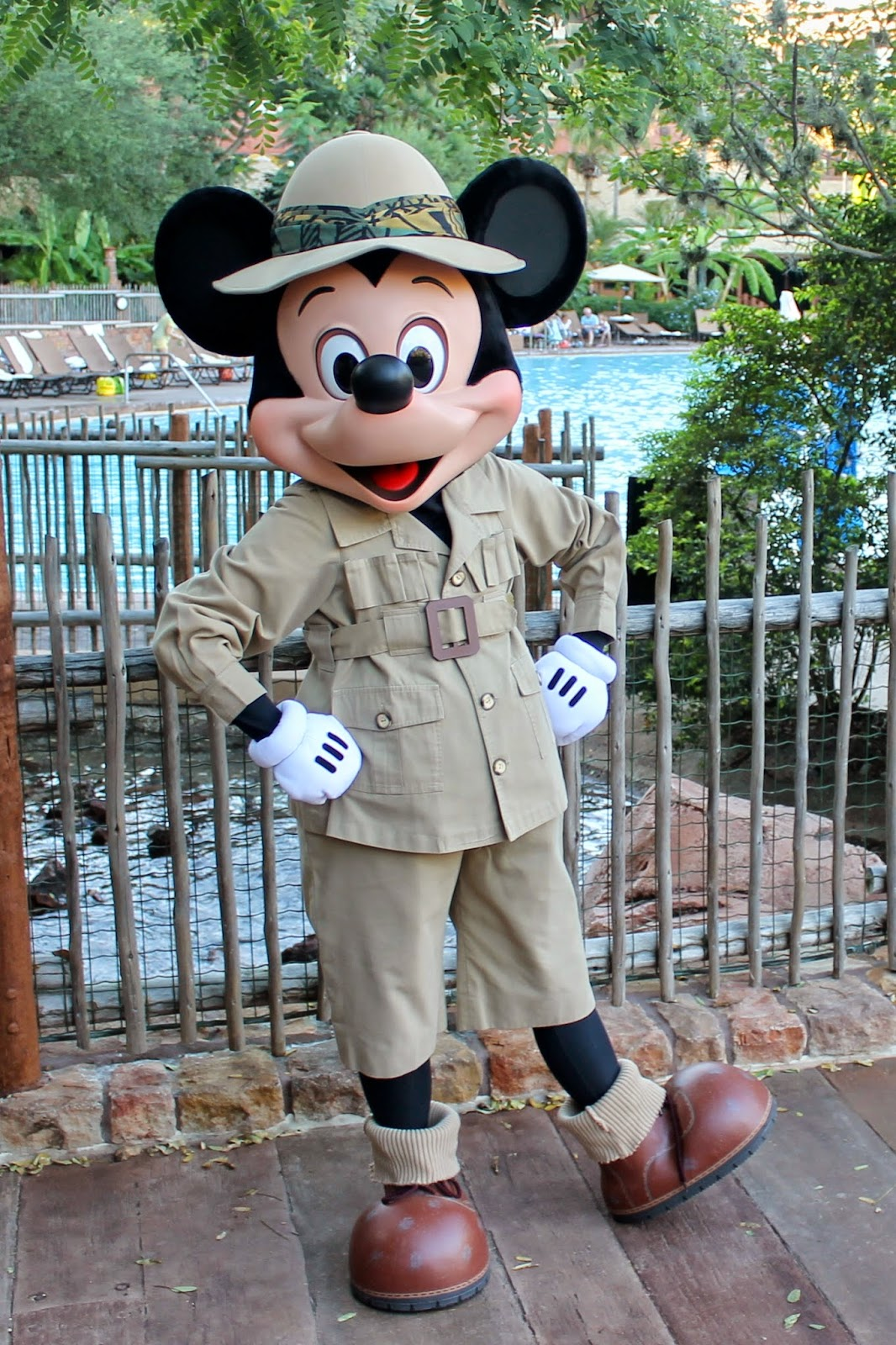 Mickey Mouse Safari Animal Kingdom Disney Character Hunt