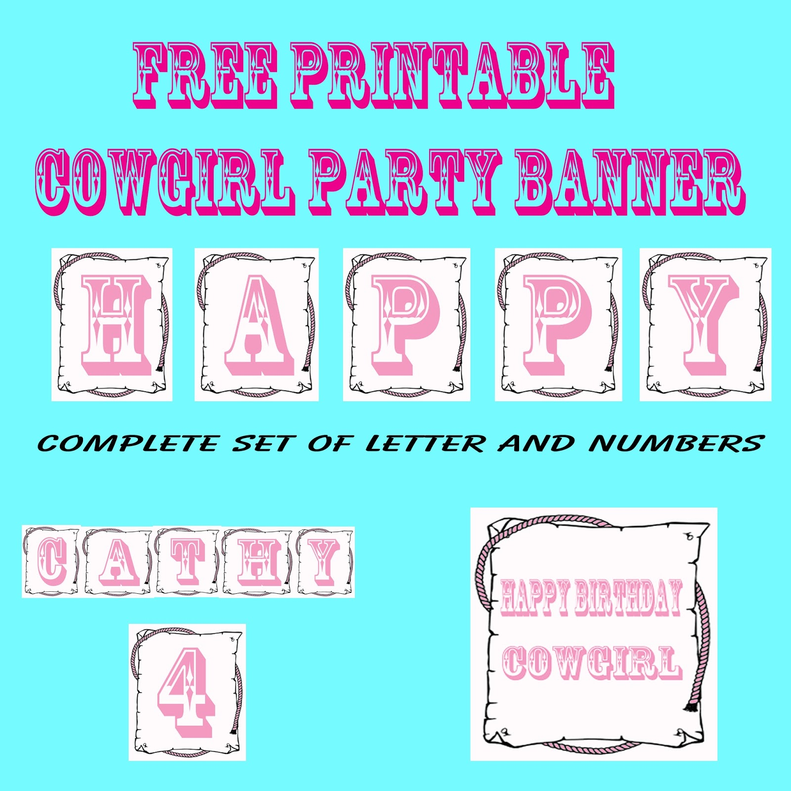 Crafts And Creations By Dancing Cowgirl Design: Free Printable ...