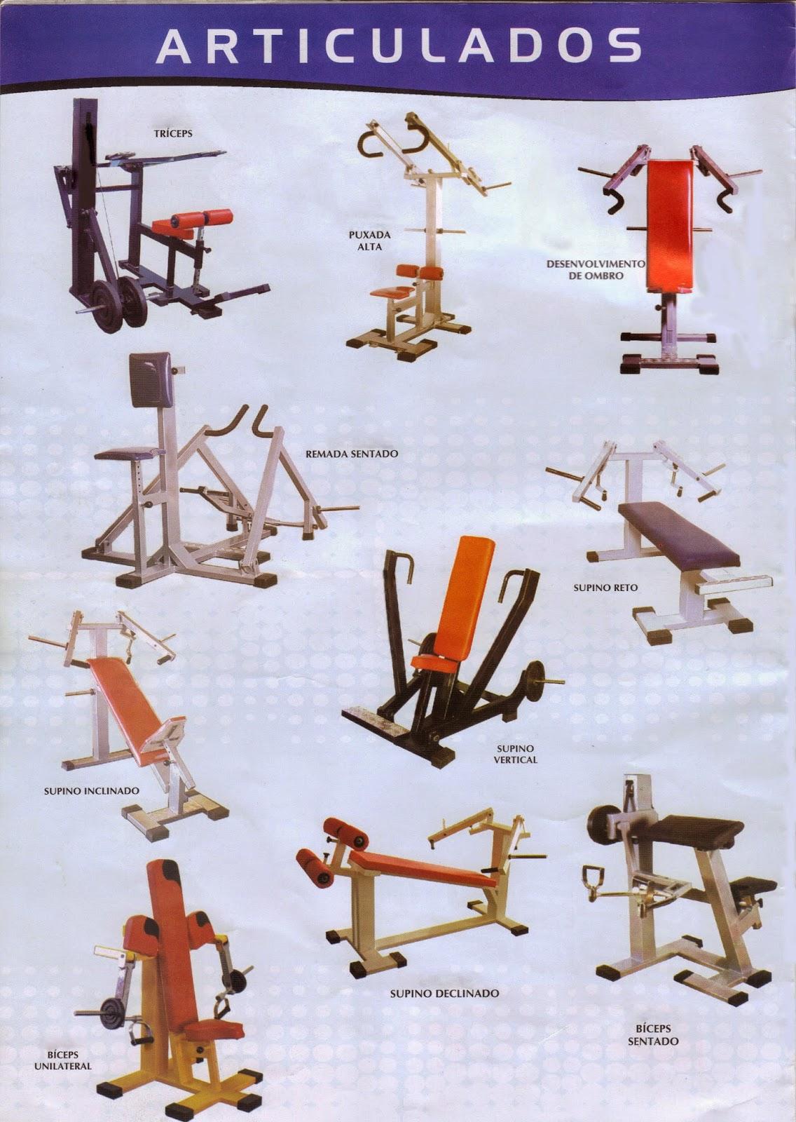 Super Aparelhos de Musculação PITBULL: Modelo De Aparelhos XL94