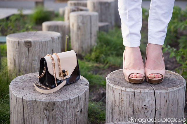 How to wear rose gold. Photos by Alvina Grace Photography.