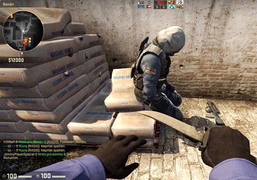 Captura de pantalla del juego Counter Strike