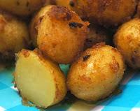 Batatinhas Douradas ao Creme de Cebola (vegana)
