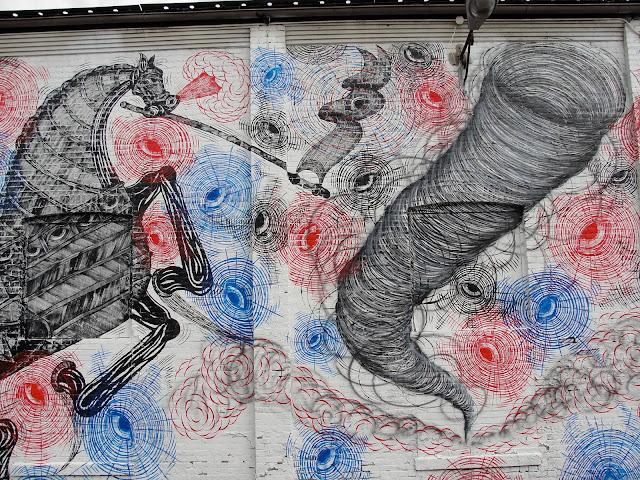 Street Art By Andrew Schoultz For RVA Urban Art Festival In Richmond, USA. 7