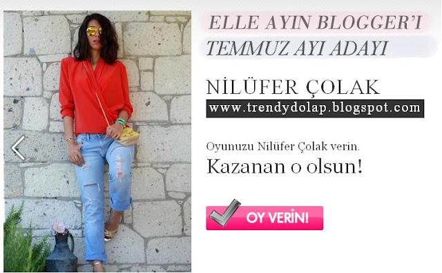 elle dergisi ayın bloggerı yarışması