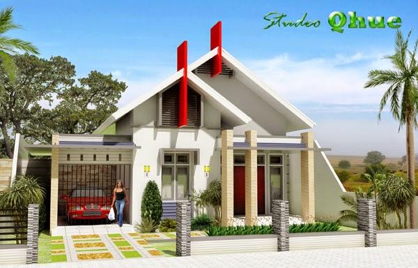 rumah sederhana atraktif dan menarik