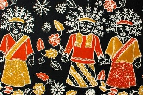 mungkin sebagian dari anda belum tahu batik jakarta tapi batik asli ...